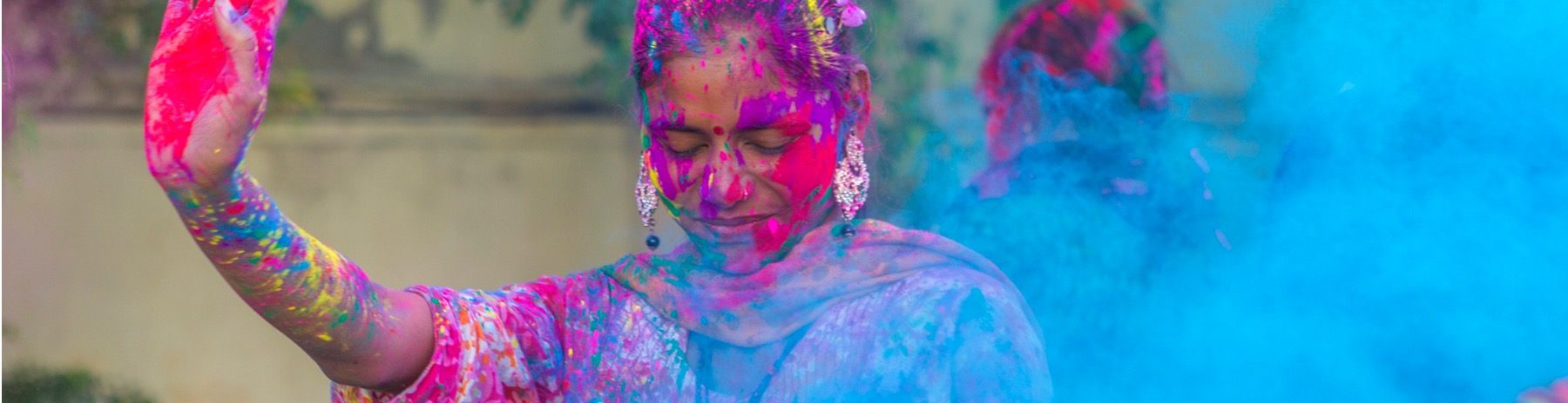 Golden Triangle With Holi Festival